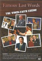 DVD's | Famous Last Words: The Word-Faith Error | Watchman